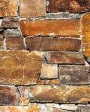 Textuur rustieke baksteen en steenmuur stock fotografie