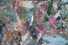 Textuur, Spoor; ; verf; samenvatting; kleur; achtergrond; expressief; ; samenstelling Stock Foto