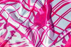 Textuur, stof, achtergrond Textuur van een vrouwelijke kleding met a Royalty-vrije Stock Afbeeldingen
