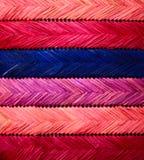 Textuur - stro het weven Stock Afbeelding