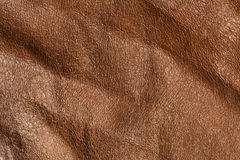 Textuur van Absract de bruine leaher Royalty-vrije Stock Afbeeldingen