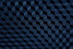 Textuur van abstract zwart en blauw geometrisch net Royalty-vrije Stock Foto
