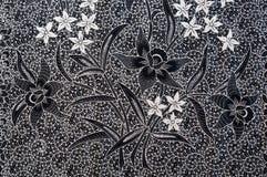 Textuur van algemene traditionele Thaise stof Royalty-vrije Stock Fotografie