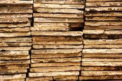 Textuur van bakstenen Stock Afbeelding