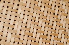 Textuur van bamboeweefsel Stock Fotografie