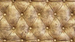 Textuur van bankleer Stock Foto