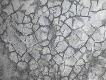 Textuur van Barsten in de muur stock afbeeldingen