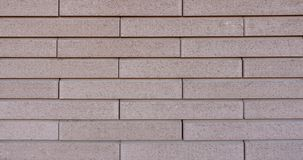 Textuur van beige bakstenen muur stock foto