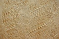 Textuur van beige pleister Stock Foto's