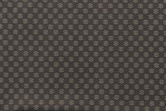 Textuur van beige stof met een abstract patroon Stock Foto