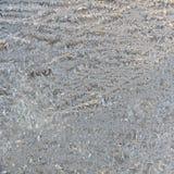 Textuur van berijpt glas. Het patroon van de winter. Stock Afbeelding