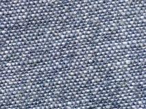 Textuur van blauwe stof Royalty-vrije Stock Foto's