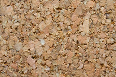 Textuur van bruine cork. Stock Fotografie