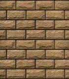 Textuur van bruine decoratieve tegels Stock Foto