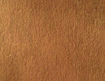 Textuur van bruine stockinetstof Stock Afbeelding