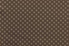 Textuur van bruine stof met een abstract patroon Royalty-vrije Stock Fotografie