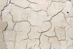 Textuur van concrete muur met barsten abstracte achtergrond Royalty-vrije Stock Foto