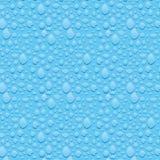 Textuur van condensatie op het glas. stock illustratie