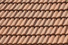 Textuur van daktegels stock foto's