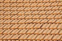 Textuur van daktegels stock fotografie