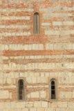 Textuur van de athedral muur Patriarchale Ð ¡ Pitsunda, Abchazië Stock Foto