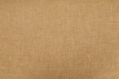 Textuur van de close-up van de linnenstof Stock Fotografie