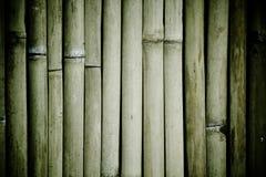 Textuur van de Donkere Achtergrond van het Bamboe Royalty-vrije Stock Afbeeldingen