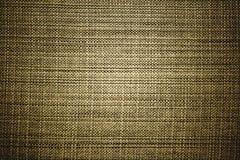 Textuur van de Donkere Achtergrond van het Canvas van de Hennep Royalty-vrije Stock Afbeelding