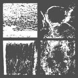 Textuur van de Grunge de Zwart-witte Nood Stock Fotografie