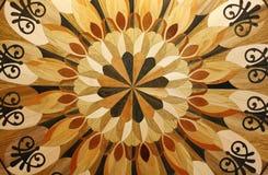 Textuur van de houten vloer Stock Foto