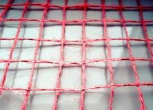 Textuur van de kabel op witte weerspiegelende oppervlakte Stock Fotografie