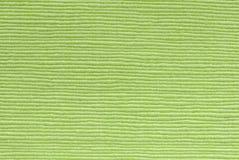 Textuur van de kalk de groene stof Royalty-vrije Stock Foto's