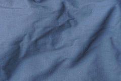 Textuur van van de katoenen grijze de kleding muntdoek Stock Foto