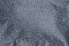 Textuur van van de katoenen grijze de kleding muntdoek Royalty-vrije Stock Foto