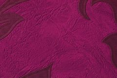 Textuur van de kleur van Bourgondië met geribbeld Kleur van rijpe kers, close-up royalty-vrije stock foto's