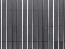 Textuur van de metaal de gestreepte muur Stock Foto's