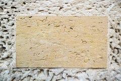 Textuur van de muur in de oude stad Royalty-vrije Stock Fotografie