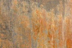 Textuur van de muur van het cementpleister met oranje verf Stock Afbeelding