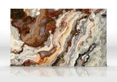 Textuur van de onyx de marmeren Tegel royalty-vrije illustratie