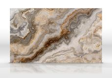 Textuur van de onyx de marmeren Tegel vector illustratie