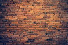 Textuur van de oude achtergrond van de grungebakstenen muur Stock Afbeeldingen