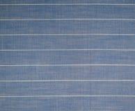 Textuur van de oude gestreepte stof Royalty-vrije Stock Foto's