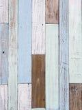 Textuur van de pastelkleur de houten muur Stock Afbeelding