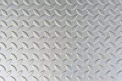 Textuur van de Plaat van het Metaal Stock Afbeeldingen