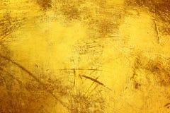 Textuur van de schade de gouden laag royalty-vrije stock foto