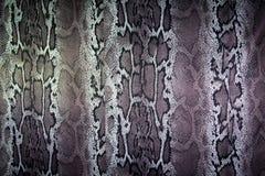Textuur van de strepenslang van de drukstof voor achtergrond Royalty-vrije Stock Foto