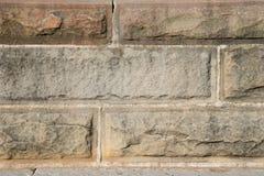 Textuur van de uitstekende muur van het baksteenblok in witte toon, voor backgroun royalty-vrije stock foto