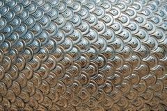 Textuur van de Zilveren Schalen van de Draak Stock Fotografie