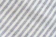 Textuur van de zwart-witte achtergrond van het stoffenpatroon royalty-vrije stock afbeelding