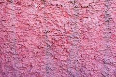 Textuur van decoratief pleister Externe muur van het gebouw Royalty-vrije Stock Foto